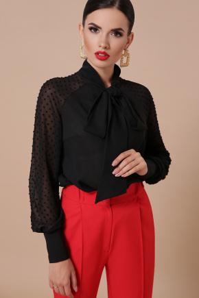 блуза Эллада д/р. Цвет: черный