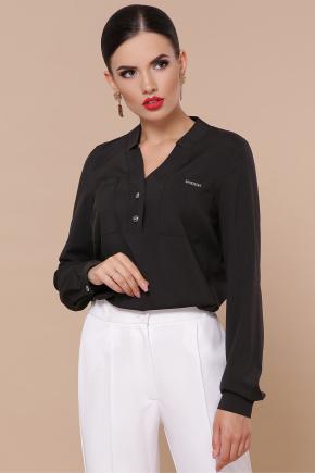 блуза Жанна д/р. Цвет: черный