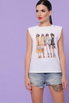 Summer футболка Киви б/р. Цвет: белый