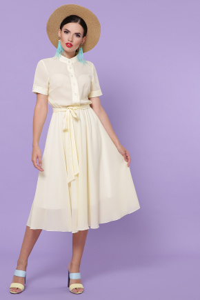платье Изольда-2 к/р. Цвет: ваниль