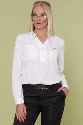 блуза Жанна-Б д/р. Цвет: белый