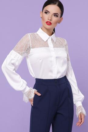 блуза Фарида д/р. Цвет: белый