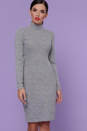 платье-гольф Алена д/р. Цвет: серый