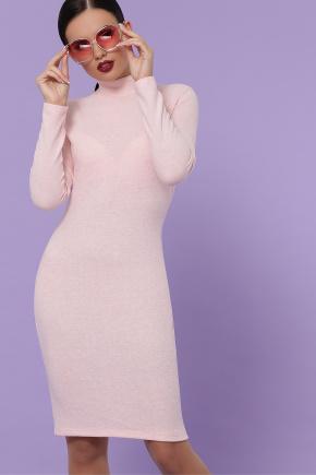 платье-гольф Алена д/р. Цвет: персик