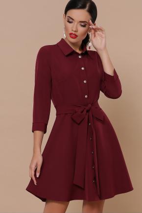 платье Ефимия (кор.) д/р. Цвет: бордо