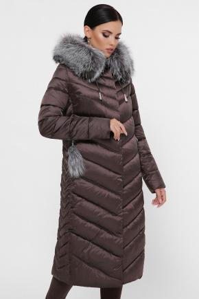 Куртка 19-59. Цвет: 11-коричневый