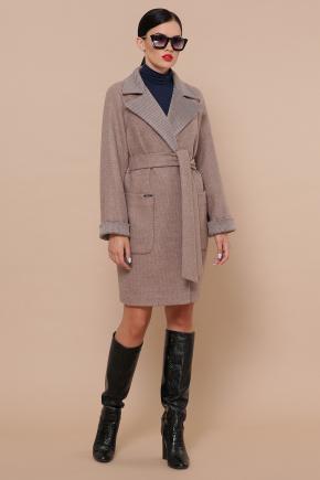 Пальто П-347-М-90. Цвет: 1-коричневый