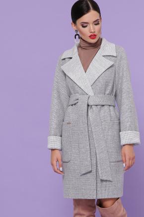 Пальто П-347-М-90. Цвет: 15-св.серый
