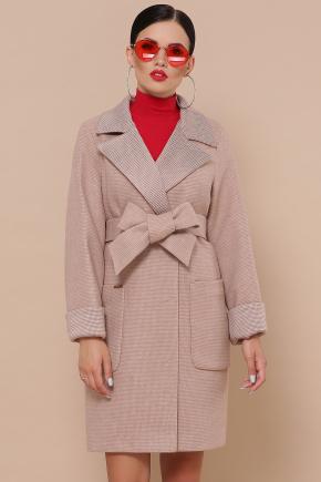 Пальто П-347-М-90. Цвет: 2-песочный