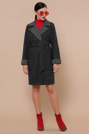 Пальто П-347-М-90. Цвет: 25-черный