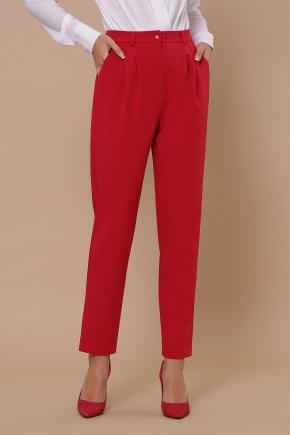 Бакси брюки. Цвет: красный