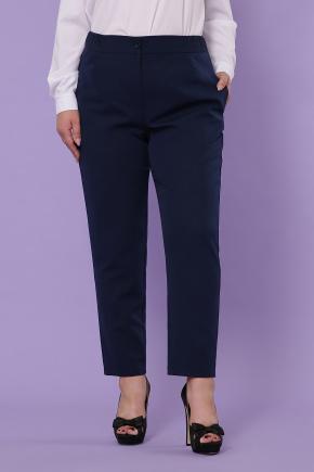 Бриджит-Б брюки. Цвет: синий