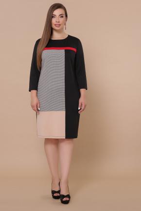 платье Ассоль-Б д/р. Цвет: черный