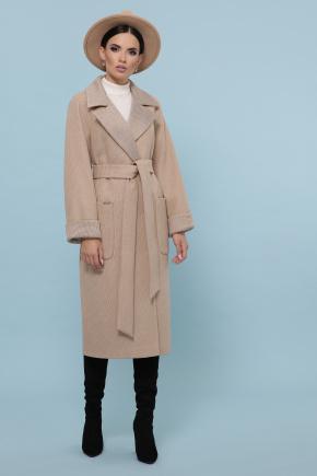 Пальто П-347-110. Цвет: 5-бежевый