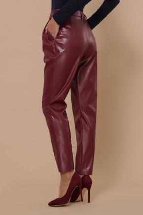 Бакси К брюки. Цвет: бордо