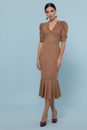 платье Дания к/р. Цвет: бежевый
