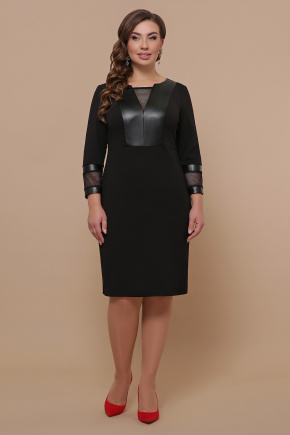 Платье Дениз-Б д/р. Цвет: черный