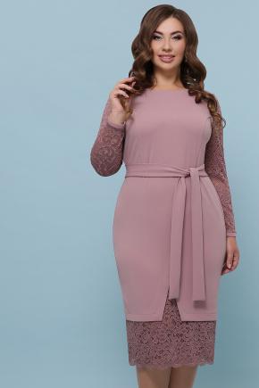 платье Марика-Б д/р. Цвет: лиловый