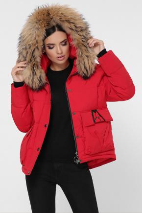 Куртка 1992. Цвет: 14-красный