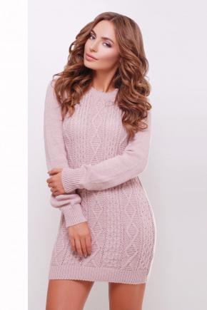 Платье-туника 143. Цвет: пудра