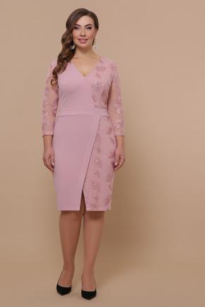 платье Лария-Б д/р. Цвет: лиловый