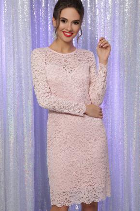 платье Сания д/р. Цвет: персик