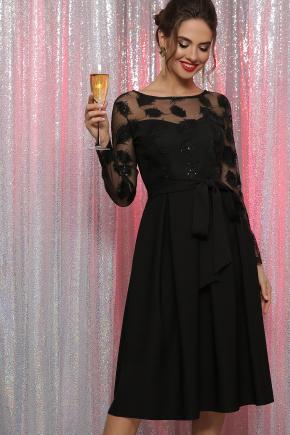 платье Евангелина д/р. Цвет: черный