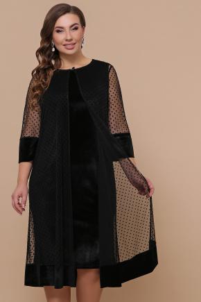 платье Элеонора-Б б/р. Цвет: черный