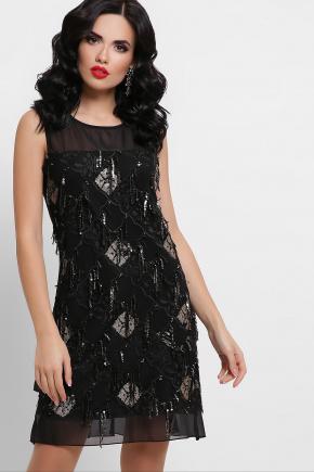 платье Эдина б/р. Цвет: черный