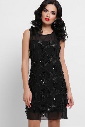 платье Эдина б/р. Цвет: черный 1