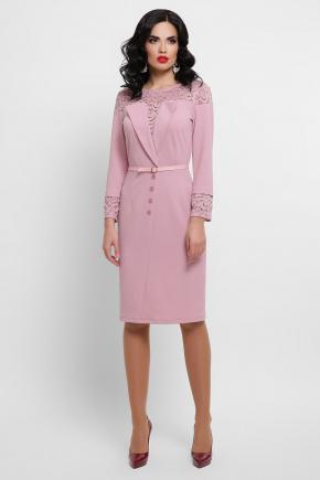 платье Леония д/р. Цвет: лиловый