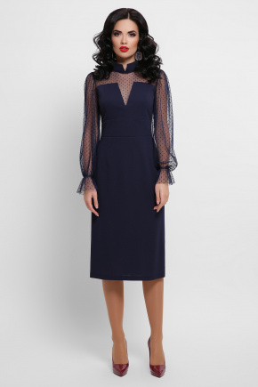 платье Лукьяна д/р. Цвет: синий