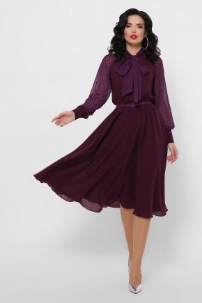 платье Аля д/р. Цвет: сливовый