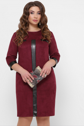 платье Руфина-Б д/р. Цвет: бордо