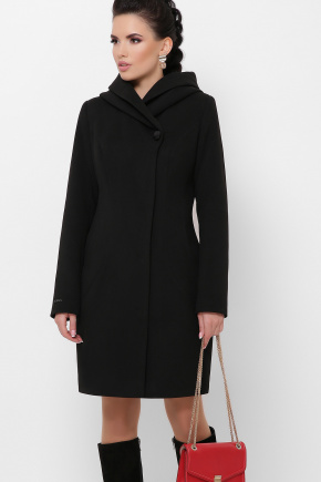 Пальто П-311 з. Цвет: черный