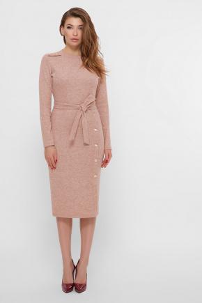 платье Ноэль д/р. Цвет: персик