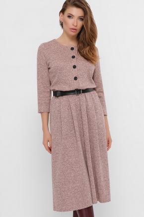 платье Инесса-Б д/р. Цвет: пудра