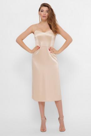 платье Фрея б/р. Цвет: бежевый