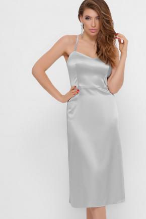 платье Фрея б/р. Цвет: сталь