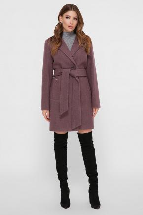 Пальто ПМ-111. Цвет: сливовый