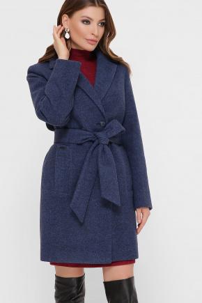 Пальто ПМ-111. Цвет: синий
