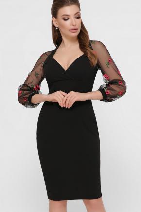 платье Флоренция В д/р. Цвет: черный 1