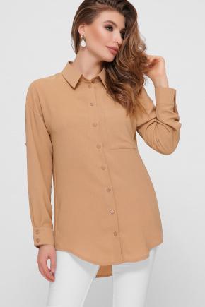 блуза Андреа д/р. Цвет: темно бежевый