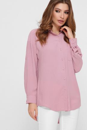 блуза Андреа д/р. Цвет: пыльная роза