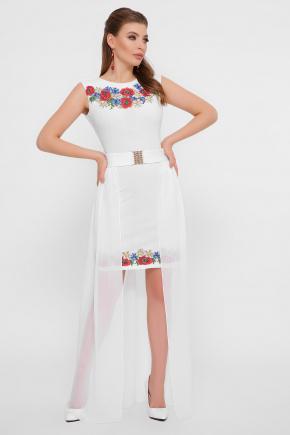 Маки Амая платье б/р. Цвет: белый