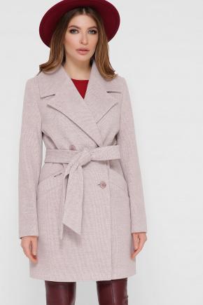 Пальто ПМ-132. Цвет: 26-св.серый