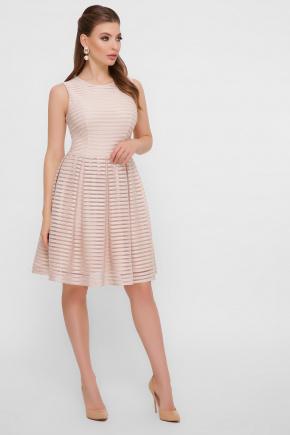 платье Альмира б/р. Цвет: бежевый