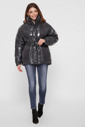 Куртка D-Дутик. Цвет: серый