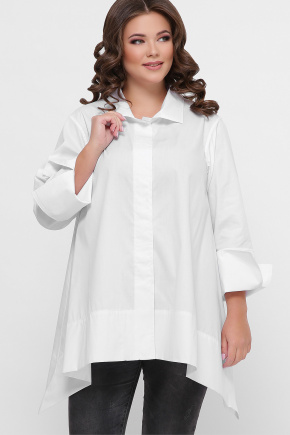 0601 Рубашка. Цвет: белый