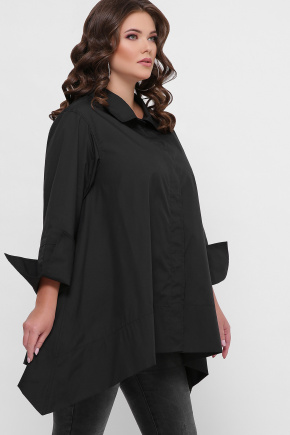 0601 Рубашка. Цвет: черный